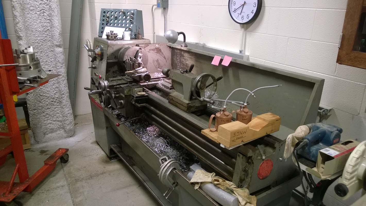 Clausing Colchester 15 engine lathe