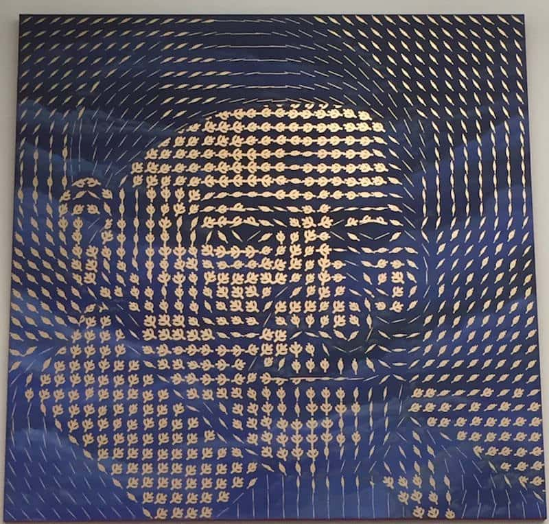 A vector field in the shape of St. Vincent de Paul.